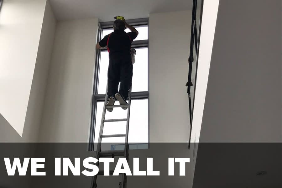 we install it